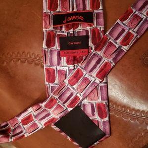Jerry Garcia Silk Necktie, Carousel